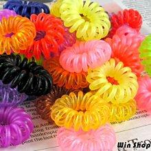 【贈品禮品】B0002 電話線髮圈/韓系糖果色電話髮圈/不傷髮/漸層髮圈/鬆緊髮圈/髮飾/髮束/手環