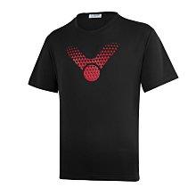 ◇ 羽球世家◇【衣】勝利運動短袖 T-10901 (黑紅色) 團體VICTOR 上衣 選手也愛百搭《熱門發售》二件免運