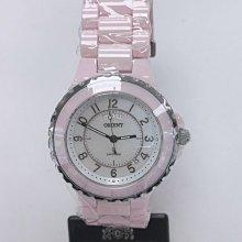 可議價 ORIENT東方錶 女 中型簡約時尚 石英腕錶 (HS9PC21S)