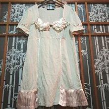 t-parts 少女專櫃 緞質 小洋裝 長版上衣 甜美 性感