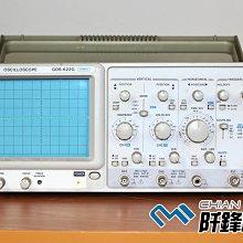 【阡鋒科技 專業二手儀器】固緯 GW Instek GOS-622G 20MHz 類比示波器