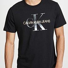【CK男生館】☆【Calvin Klein燙金LOGO印圖短袖T恤】☆【CK006C7】(S-M)4/19