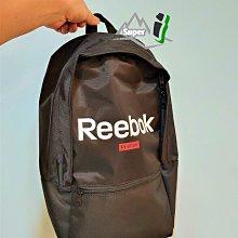 「i」【現貨】Reebok 黑 基本 後背包 肩背包 書包 運動背包 旅行背包