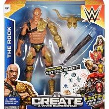 WWE Create A Superstar 世界娛樂摔角 6吋人偶遊戲組 共6款~請詢問價格/庫存