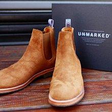 UNMARKED Chelsea Boots 20新版 雀兒喜 靴 麂皮 金棕色  男 全新 現貨 墨西哥 真皮 固特異