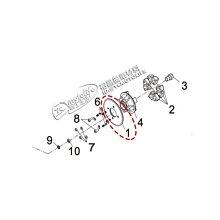 YC騎士生活_SYM三陽原廠 最終 驅動鏈輪 T3 SB300 野狼300 驅動齒輪 後齒 鏈條齒輪 42T 42齒