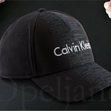 CK Calvin Klein Hat 卡文克萊黑棒球帽 數位LOGO 防曬遮陽帽高爾夫球帽 男女適用 愛Coach包包
