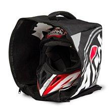 伊摩多※義大利 AIROH BAG原廠安全帽袋 越野帽袋 拉鍊 手提 提袋 大容量 黑色18BOR03