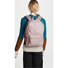 Herschel Settlement 中型 粉色 乾燥玫瑰 金屬拉鍊 筆電夾層 女生 後背包 [現貨]