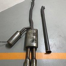 MINI Cooper S F55 GIOMIC 排氣管 中尾段