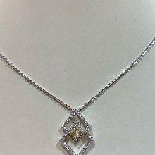 總重2.23克拉天然鑽石墜飾,主鑽淡黃彩鑽鑽1.02克拉,加上1.21克拉配鑽,超豪華款式,超值優惠價128000元,商品只有一個,提供6期分期零利率