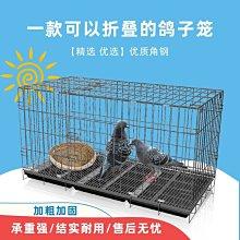 泰迪狗籠子鴿子籠兔子籠金毛折疊籠角鋼加粗籠子寵物籠子便攜家用