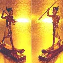 [ Vero 設計家作品 合金鍍金 手工彩繪-阿圖姆 法老狩獵 ]-Egypt埃及古文明.@$980【預訂品】