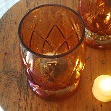 熱銷#歐式五彩漸變咖啡杯形玻璃燭臺浪漫燭光晚餐酒吧裝飾送電子蠟#燭臺#裝飾