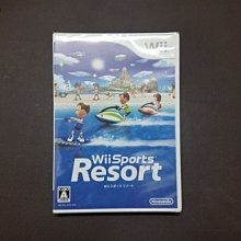 日本帶回 全新正版 Wii Resort Sports 運動 度假勝地 渡假勝地 日版 正版 原裝 遊戲 體感遊戲