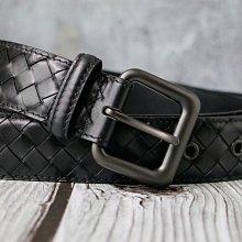 【編織之王】低調奢華頂級胎牛皮純手工編織真皮皮帶胎牛皮版850#