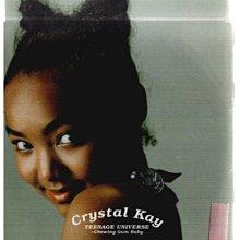 新尚唱片/ Crystal kay TEENAGE UNIVERSE 二手品-1092