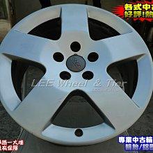 【桃園 小李輪胎】17吋5孔112 AUDI 7.5J ET56 原廠 中古鋁圈 VW Skoda ET40以上車適用