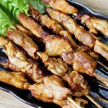 ㊣盅龐水產◇迷迭香雞腿串◇雞肉串 10串/盒 每串18.5元 烤肉 燒烤  夜市
