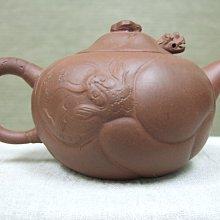 七O年代綠標紅泥壺(魚化龍)