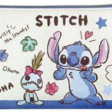 41+ 現貨 免運費 筆袋 日本正版 迪士尼 史迪奇 stitch 化妝包 收納包 收納袋 萬用包 小日尼三