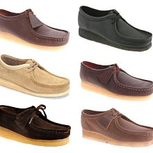 { POISON } CLARKS ORIGINALS WALLABEE LOW 經典鞋款 袋鼠鞋