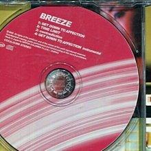 *真音樂* BREEZE / GET DOWN TO AFFECTION 日版 二手 K19701
