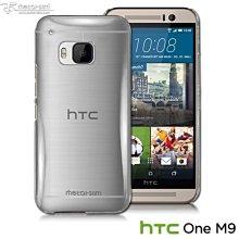 【蘆洲IN7】Metal-Slim HTC ONE M9 防刮透明晶透保護殼 水晶殼 透明殼 背蓋