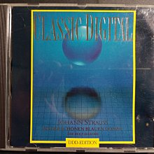 CD , JOHANN  STRAUSS  /  CLASSIC  DIGITAL 德國版