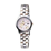 可議價 ORIENT東方錶 女 玫瑰金雙色 石英腕錶 (WI011SZ) 25mm