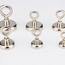 強力磁鐵掛勾-閉合型直徑42mm 【好磁多】專業磁鐵銷售