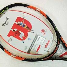 宏亮 含稅附發票 WILSON 網球拍 BURN 100S 18x16 錦織圭 Nishikori WRT7254102