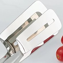 304不銹鋼 多功能雙面夾 鍋鏟夾 煎牛排夾 廚房夾 食品夾 披薩鏟夾 烤肉夾 麵包夾