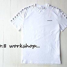 ☆【CK男生館】☆【Calvin Klein肩膀拼接LOGO刺繡短袖T恤】☆【CK006K4】(S-L)4/26