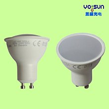 5Cgo【權宇】外銷日本LED 3W GU10低溫高效省電陶瓷燈泡 三種白/暖/自然光 另4 5 6 7W 一年保 含稅