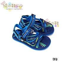 【超商取貨免運費】 【阿亮代言】G.P 兒童休閒磁扣兩用涼拖鞋G0711B-藍色 (SIZE:28-34 共三色)