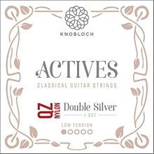 Knobloch 200ADQ 雙倍銀 QZ尼龍系列 低張力 古典吉他弦 - 【黃石樂器】