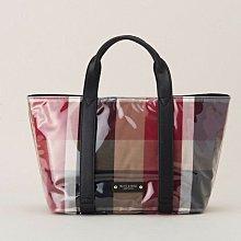 現貨~日本藍標Blue label crestbridge手提包,外面一層透明PVC材質包包不容易髒哦🌸朵朵醬代購🌸
