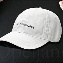 美國官網真品 Tommy Hilfiger Hat 白色運動慢跑遮陽帽 高爾夫球帽 可調整帽圍 棒球帽 愛Coach包包