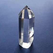 ☆采鑫天然寶石☆ * 淨&平衡 *頂級激光白水晶柱~極美~7.1cm~微帶綠幽