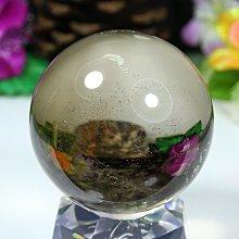 孟宸水晶 = A9003  (100%天然超清透茶水晶球457克)