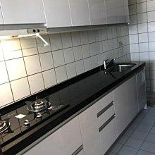 名雅歐化廚具274公分石英石檯面+上廚F1木心桶身+下廚F1木心桶身+五面封結晶門板