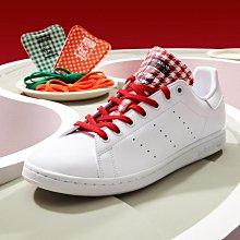 限時特價 南◇2021 6月 ADIDAS XMAS X STAN SMITH 經典鞋 FZ2821 白紅 鞋舌可替換