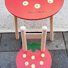 台中二手家具樂居 全新中古傢俱家電拍賣 A0416EJ 紅色兒童書桌椅 辦公桌*2手桌椅 餐桌 會議桌 二手桌椅新竹苗栗