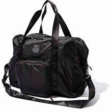 日本 KiU 107-900 黑色 高機能空氣感 可秒收摺 防潮防水 隨身旅行袋