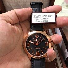 Manlike 曼莉萊克 佛羅倫斯風尚腕錶 全新石英錶