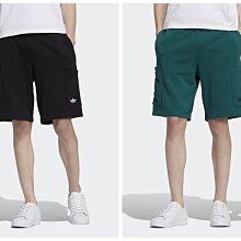 【豬豬老闆】ADIDAS ORIGINALS DISNEY PIXAR 短褲 熊抱哥 男款 黑HD9081 綠9082