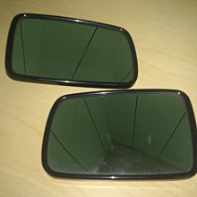 BMW E60 後視鏡片有防眩(左-右) 非 BENZ AUDI VOLKSWAGEN W211 E39 E46E65