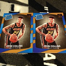 17 18 Donruss - John Collins 2張新人RC正規卡