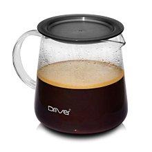 送【店家專用計量匙】Driver Moka 耐熱玻璃600ml 兩用濾杯 可當咖啡壺 泡茶壺 玻璃分享壺 沖茶器 花茶壺